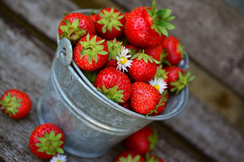 La fraise pour perdre du poids