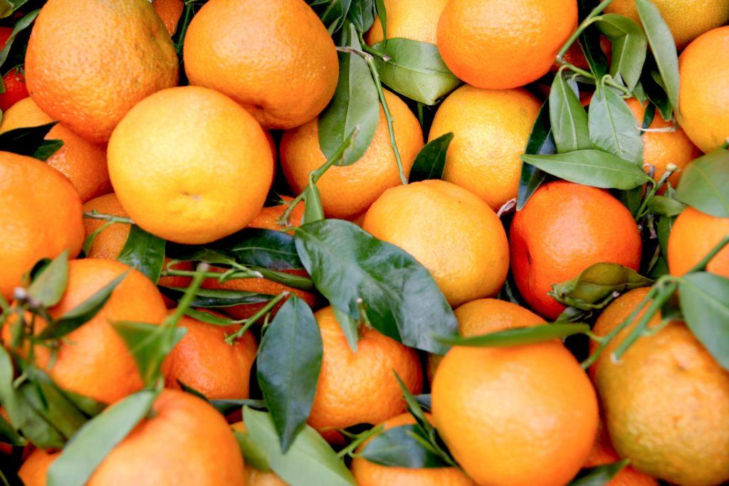 Les oranges sont pauvres en sucre