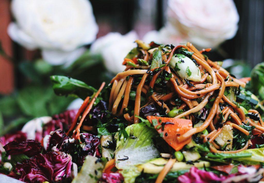 Légumes verts à faible teneur en sucre